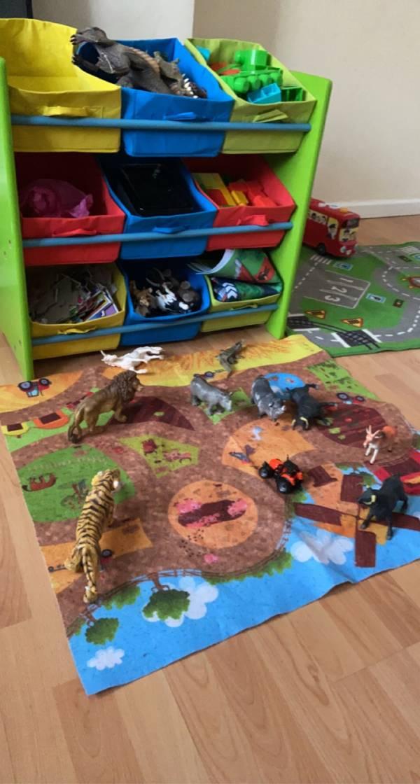 Maryam's home tiney home nursery - setting image