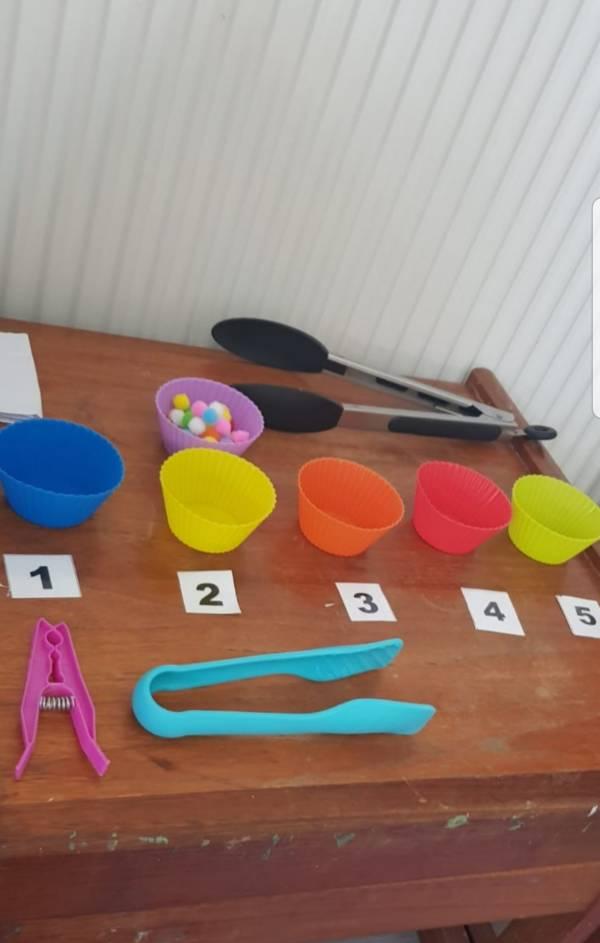 Sue's Creatives tiney home nursery - setting image