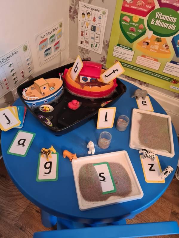 Mariella's  tiney home nursery - setting image