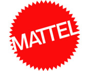 Mattel logo in red