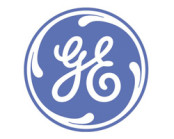 GE logo blue and white