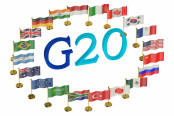 g 20  countries flags