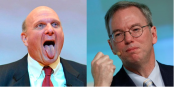 Who Said it: Steve Ballmer or Eric Schmidt?