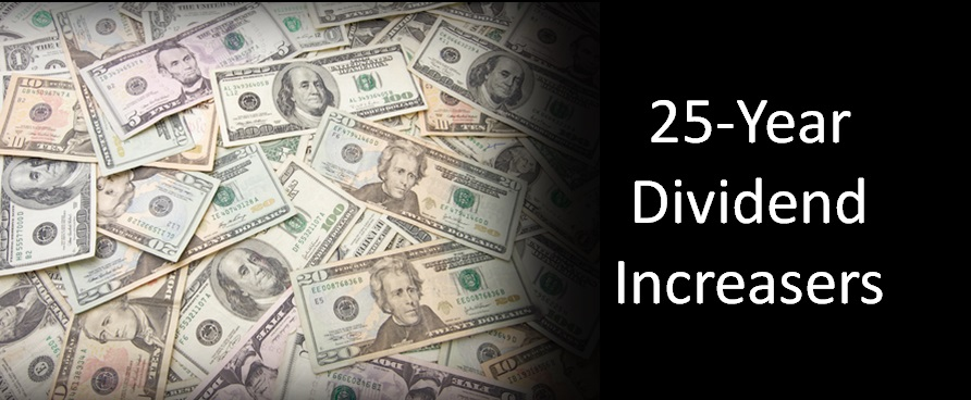 25 Year Dividend Increasers