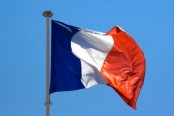 A Waving French Flag