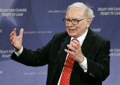 Warren Buffet CEO of Berkshire Hathaway