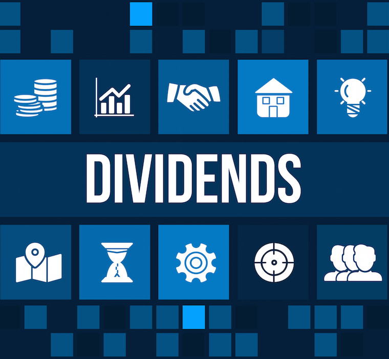 Dividends image with logos