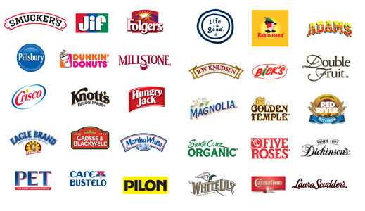 Logos of The J.M. Smucker Company Brands