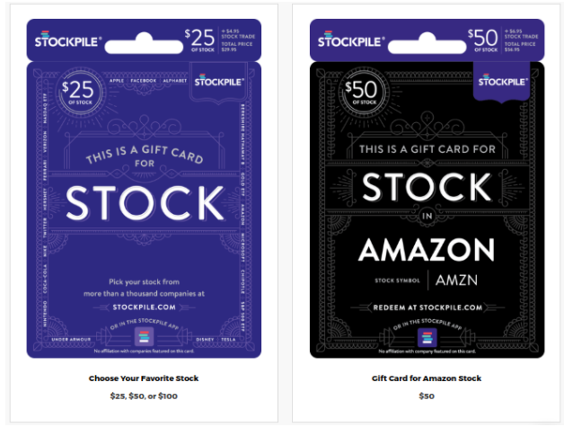 Stockpile Cards Example