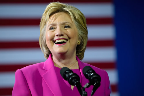 hillary clinton portrait character
