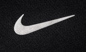 Nike Logo on Black Background