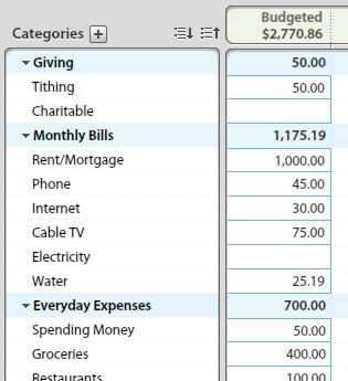 YNAB screenshot 1