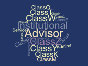 Share classes wordcloud dividend.com