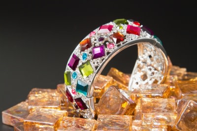 Luxury- Bracelet with gems