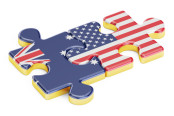 Australia and U.S. Flags