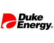 duke energy logo in red and black