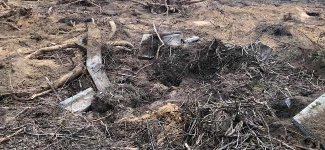 Ksiądz jest winny zniszczenia cmentarza?