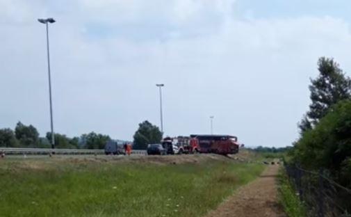Wypadek autokaru w Chorwacji