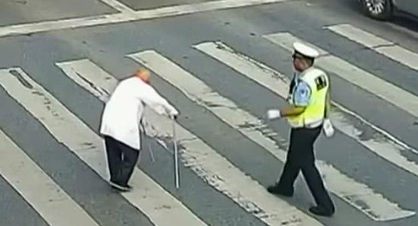 Policjant i senior