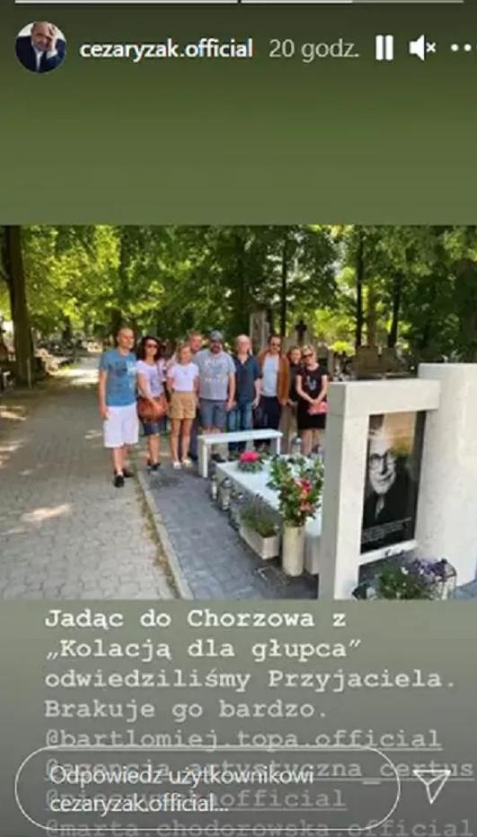 Piotr Machalica grób