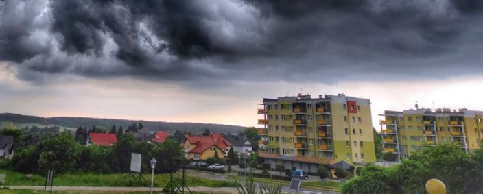Chmura nad Kraśnikiem