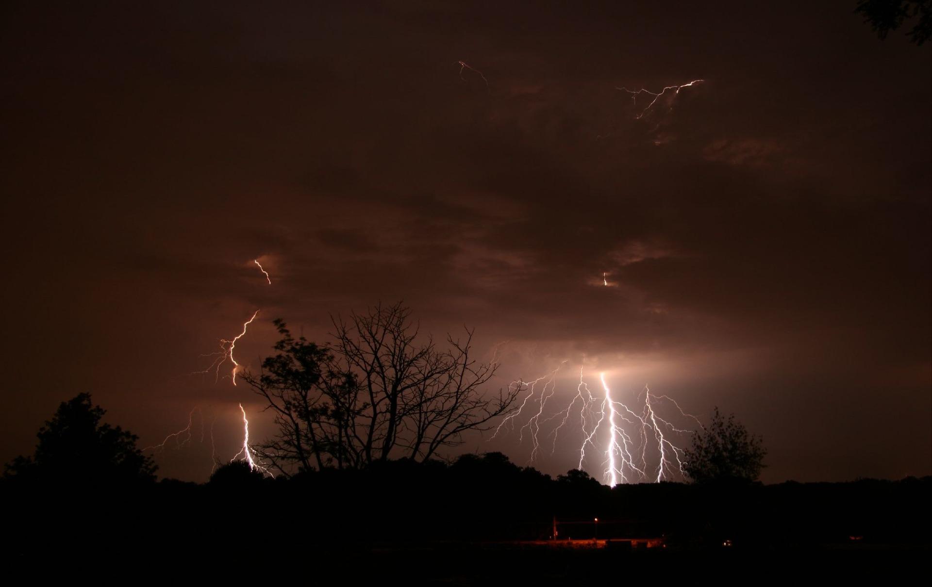 burza pogoda