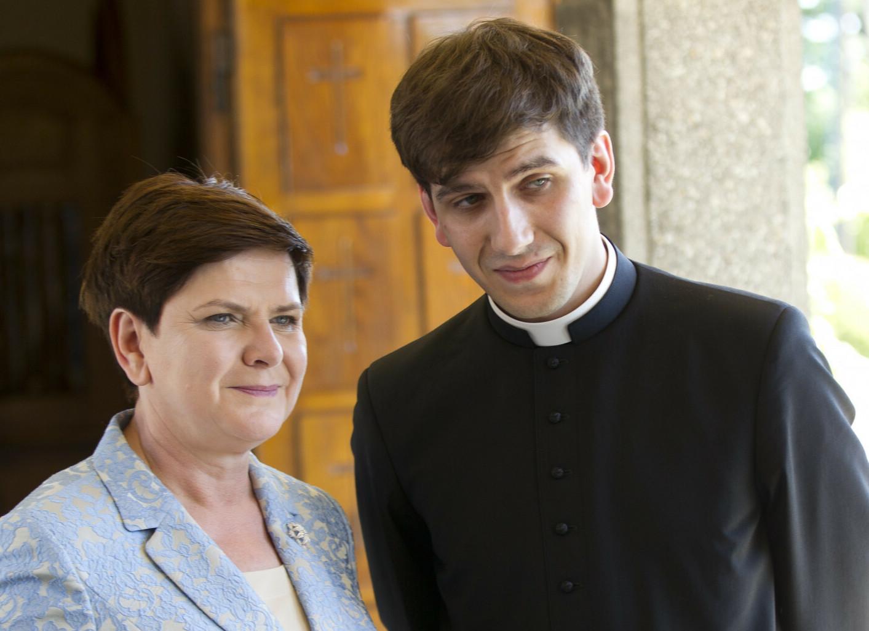 Beata Szydło i Tymoteusz Szydło