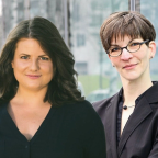 Christin Schäfer und Ann Cathrin Riedel