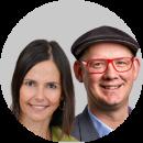 Thomas Gegenhuber und Johanna Mair