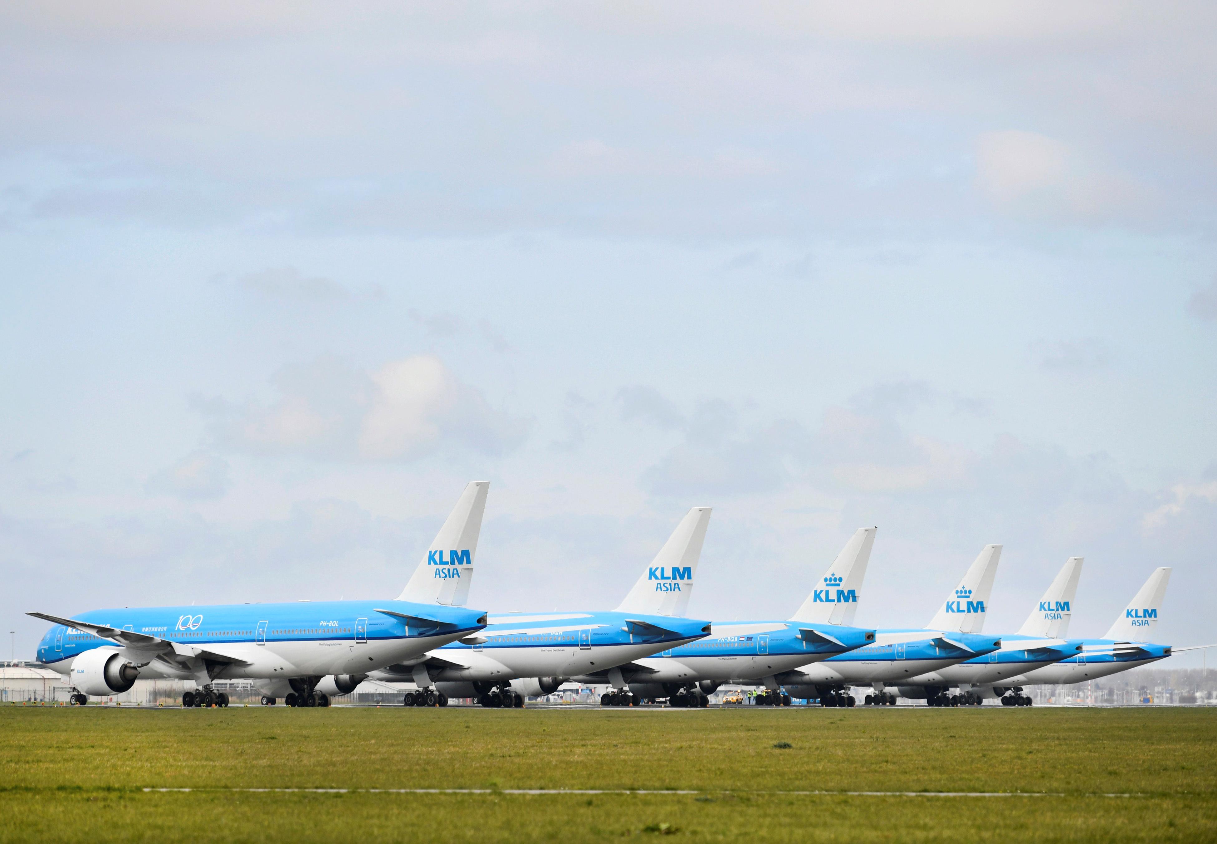 Reuters KLM