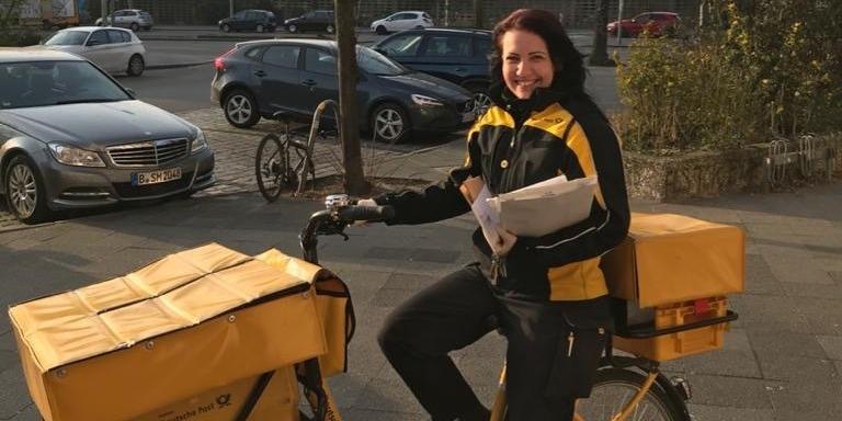 Ilona Hackenberg, Briefzustellerin bei der Deutschen Post