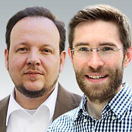 Stephan Dreyer und Matthias C. Kettemann (r.) vom Hans-Bredow-Institut (Foto: Promo)