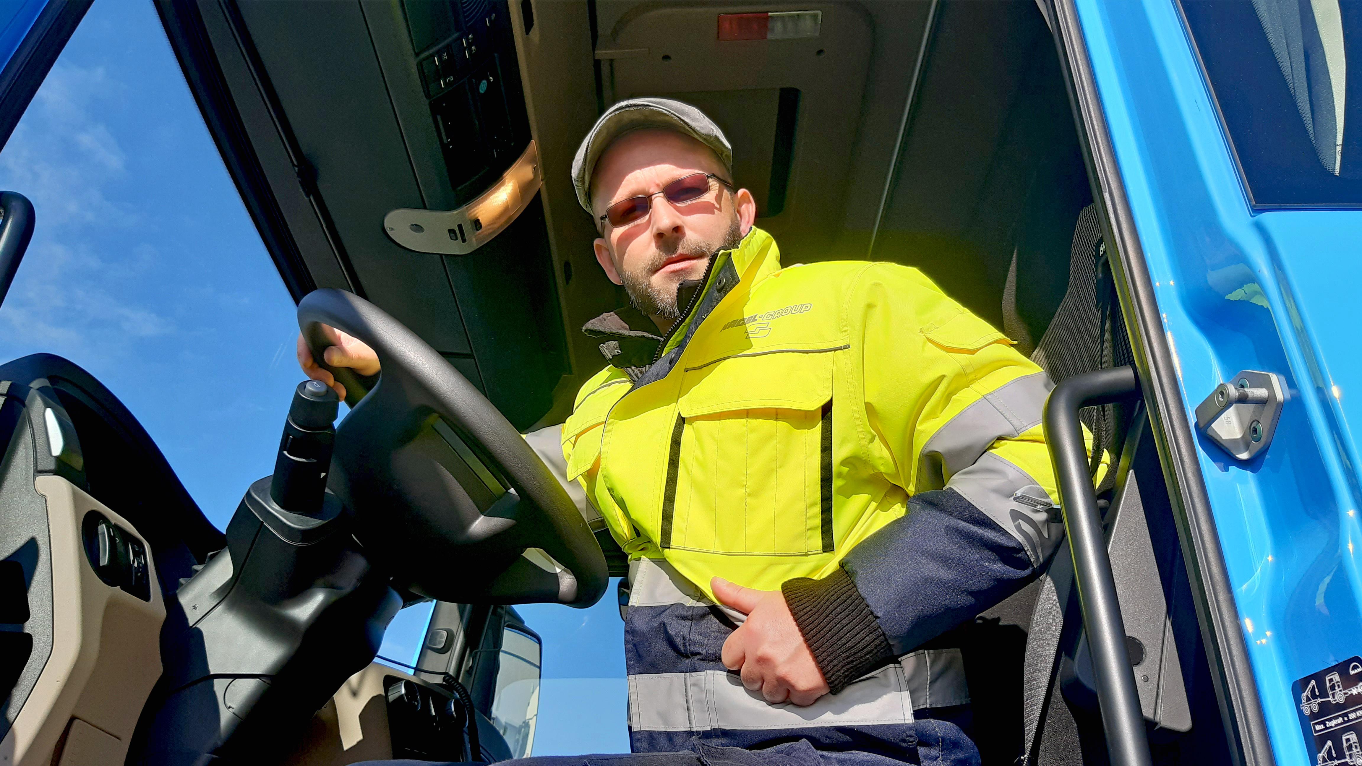 Kai Lehl, Berufskraftfahrer Nagel Group