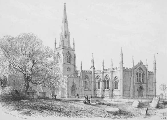 St Mary's Church drawing