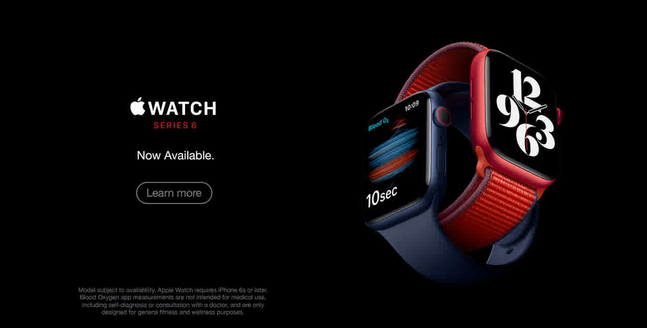 Apple Watch Series 6 Now Available