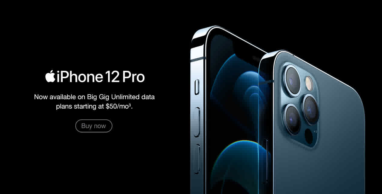 iPhone 12 Pro Banner - Buy Now