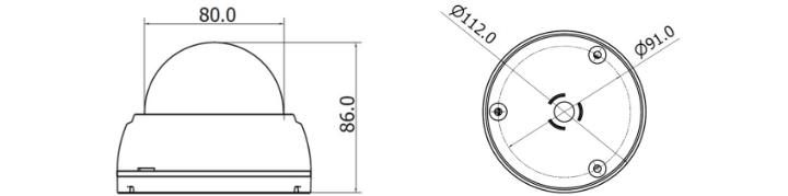 IDC-1004MIR外観図