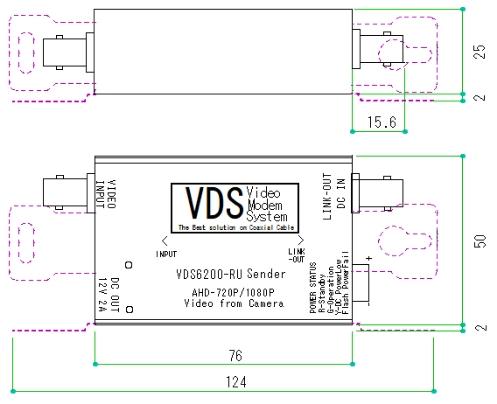 VDS6200-LU(受信部)