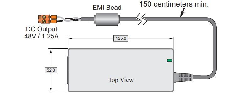 VDS6500 電源
