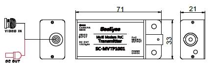 SC-MVTP1001(送信器)