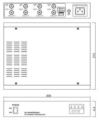 SC-MVRP0604(4CH受信機)