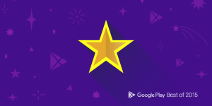 illustration of yellow star in front of a purple background