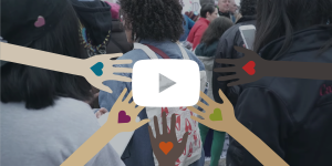 video thumbnail of the womens march in washington