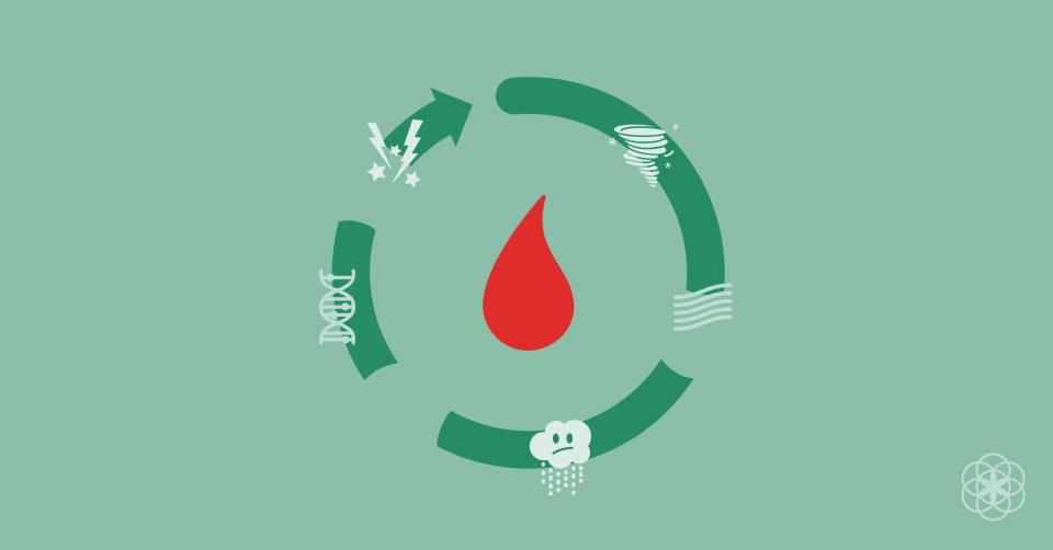 Coágulos tiver se período acontece seu no que sanguíneos você o