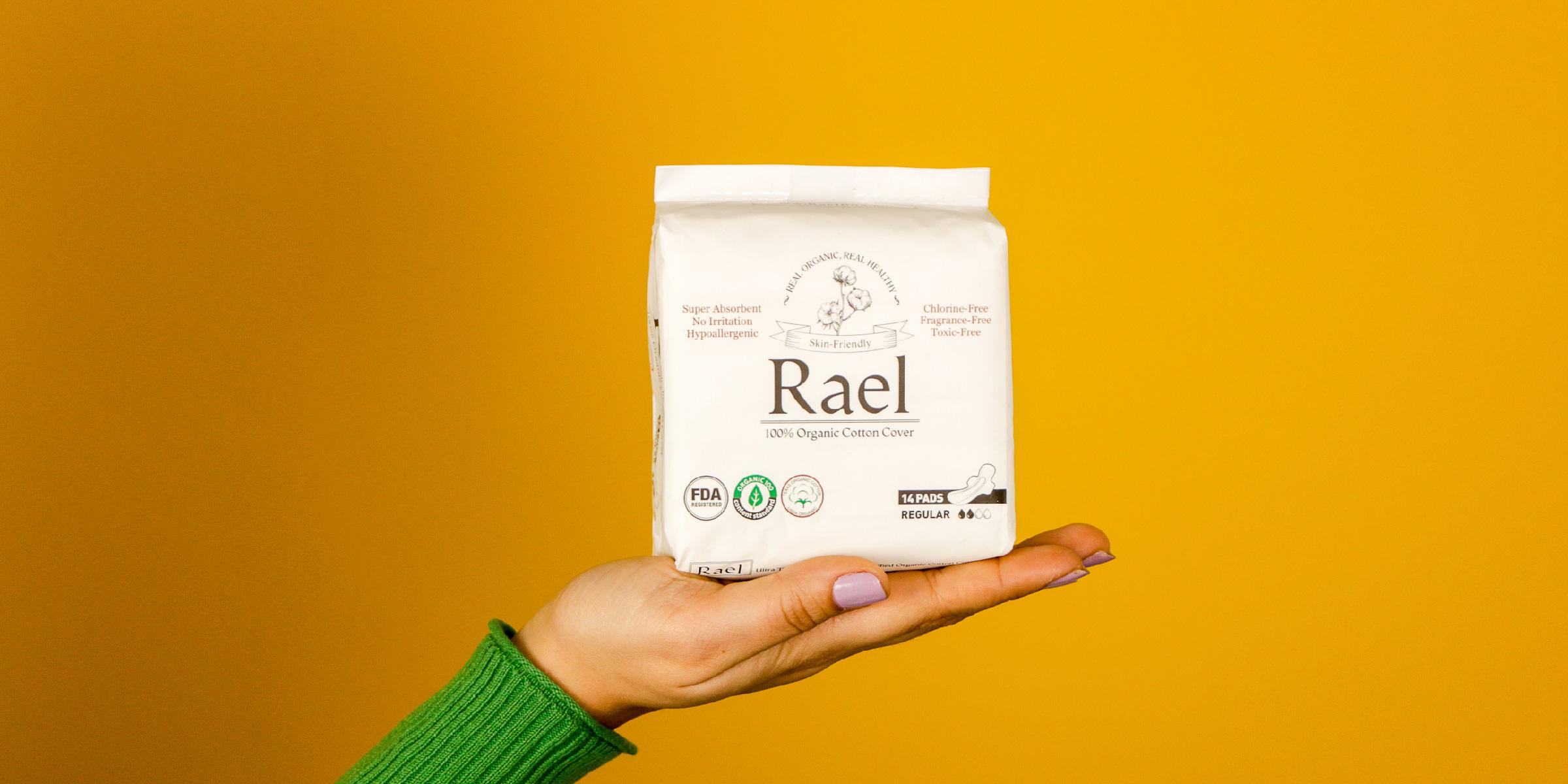 Rael Disposable Menstrual Pads Reviews