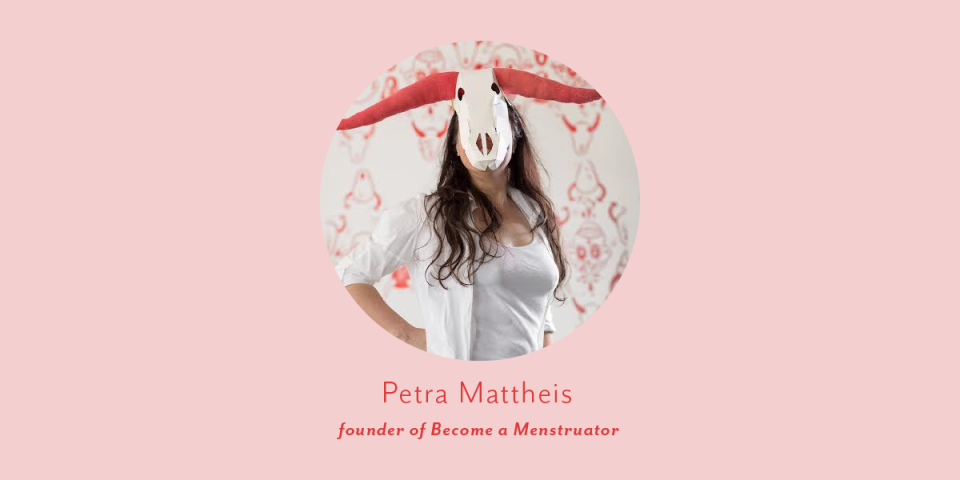 thumbnail portrait of petra mattheis founder of become a menstruator