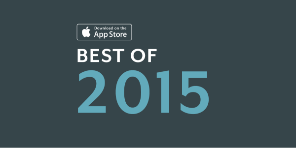 badge of the best of 2015 app store selection