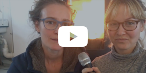 video thumbnail of ida tin in conversation with erica avey in the clue office in berlin