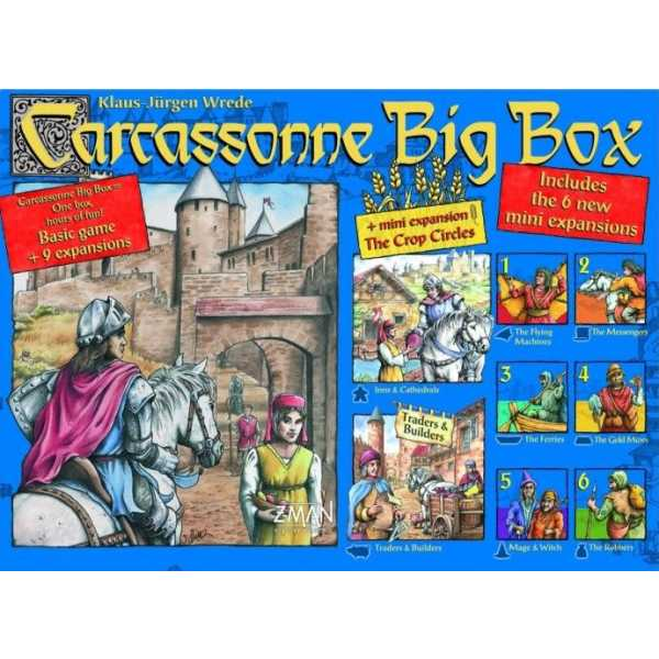 Carcassonne Big Box 4