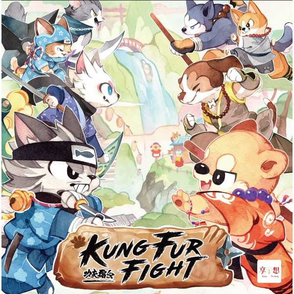 Kung Fur Fight!